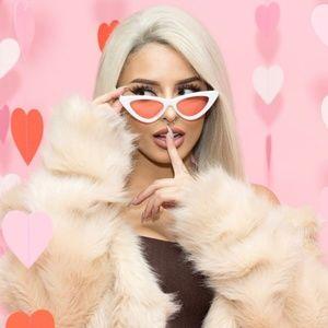 Last Slim Lolita Streamlined Cat Eye Sunglasses